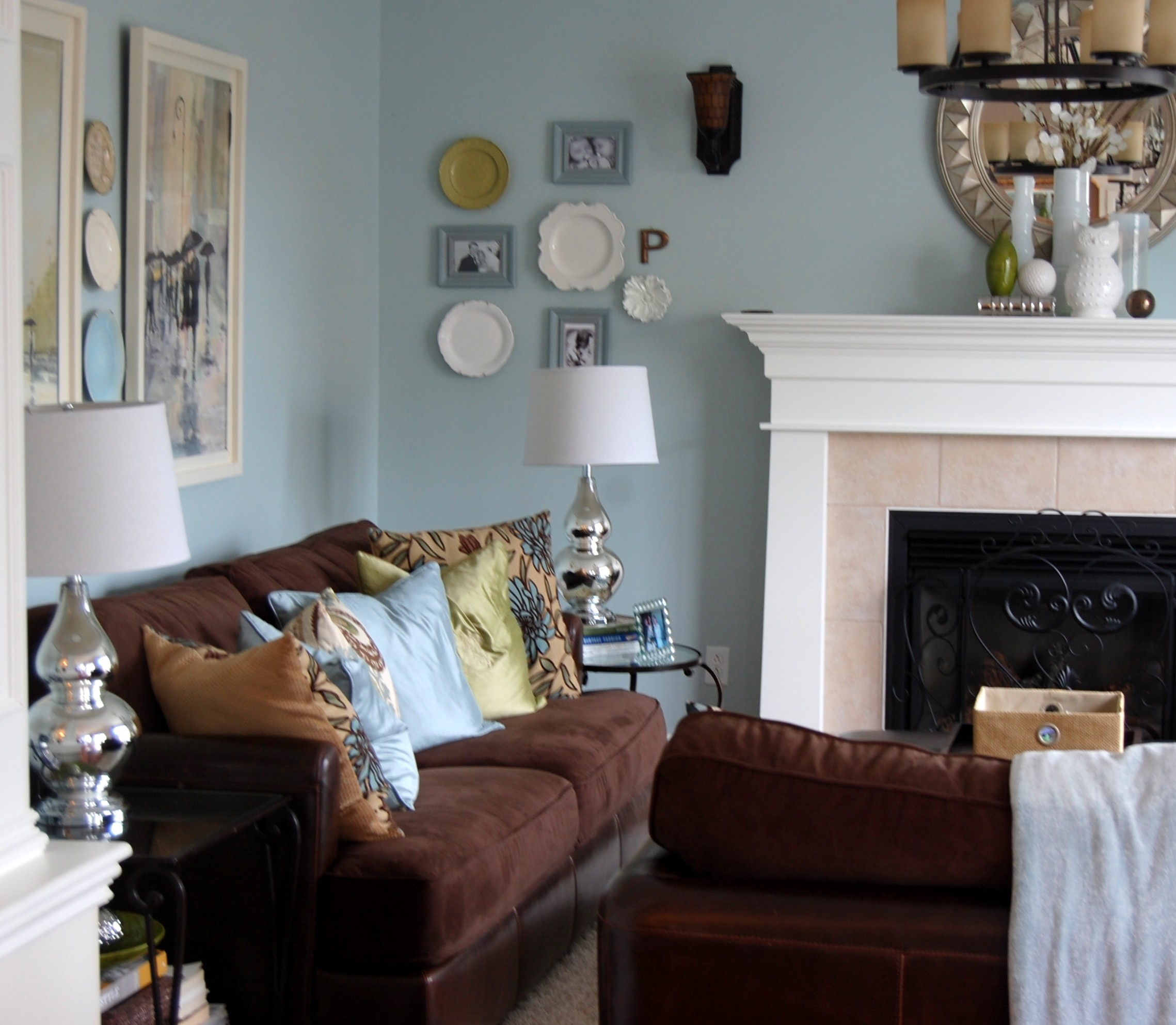 Benjamin Moore: Benjamin Moore Woodlawn Blue & The Evolution Of Our Living