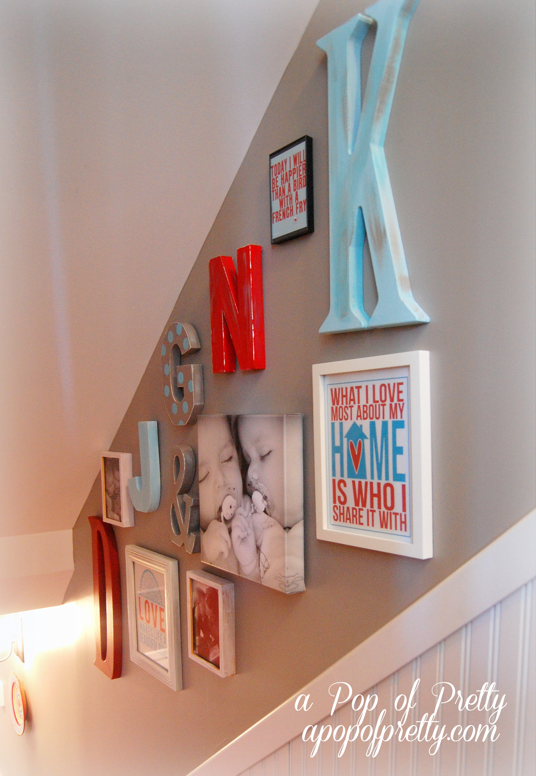 Decorating With Letters A Pop Of Pretty Blog Canadian Home Decorating Blog St John 39 S Canada