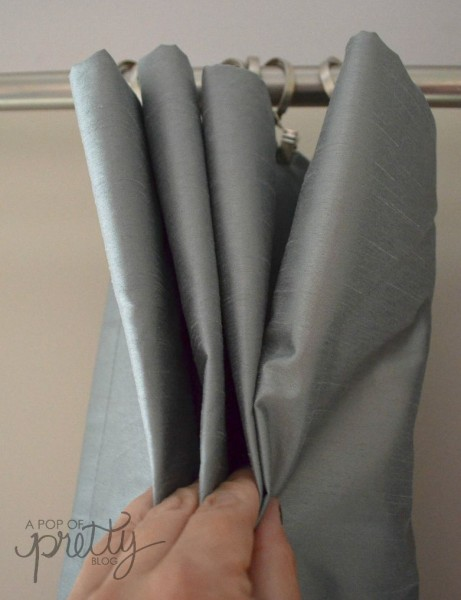 Easy No Sew Curtain Panels