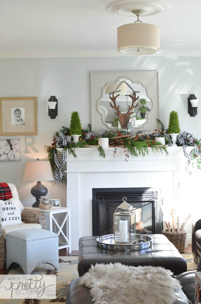 Decorating Blogs Canada Of Canadian Bloggers Home Tour Red Plaid Cottage Christmas
