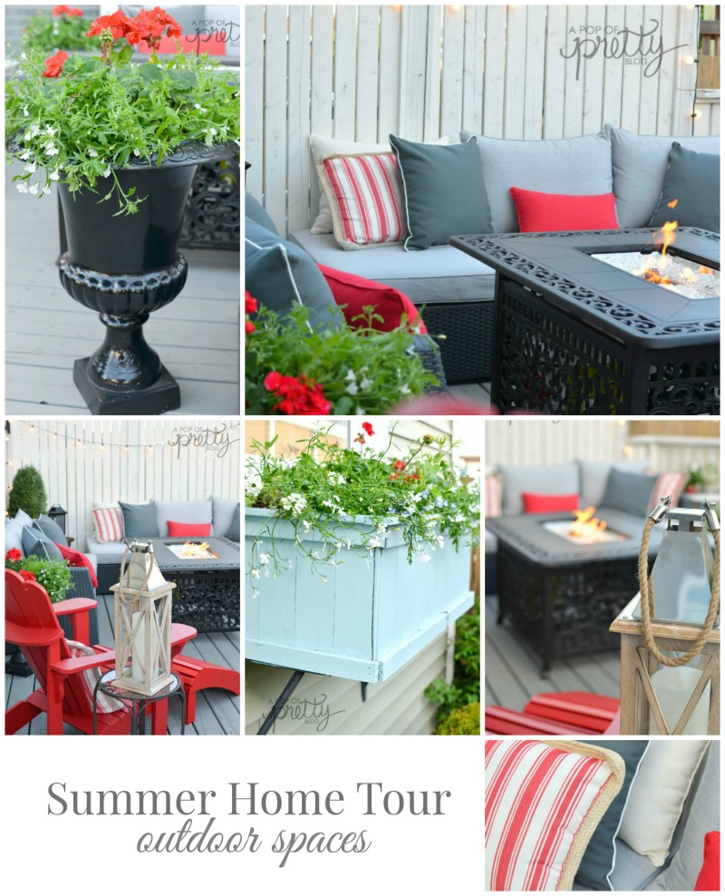 Summer decorating ideas canadian bloggers home tour for Home decorations canada
