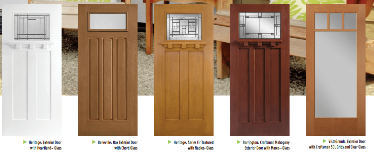 Best front doors for every home style masonite a pop of pretty blog canadian home for Fiberglass exterior doors canada
