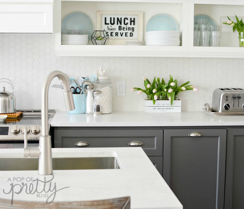 Kitchen Decor Canada: A Pop Of Pretty Blog (Canadian Home Decorating Blog